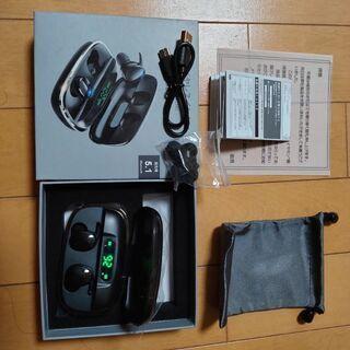 【ネット決済】新品未使用Bluetooth5.1フルワイヤレスヘ...