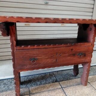 ★アンティーク★インテリア木製家具テーブル