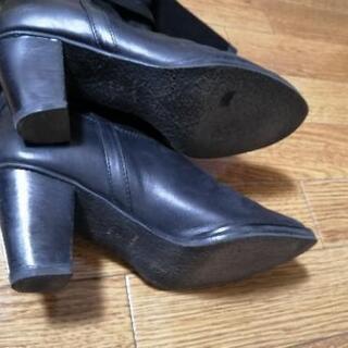 レザーロングブーツ Pool Side - 靴/バッグ