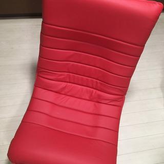 ハイバック座椅子赤