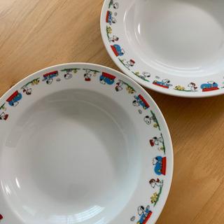 スヌーピー 丸皿 2枚セット