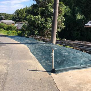 防草シート張りいたします。知多半島の便利屋・おそうじ屋 ハ…