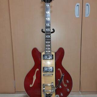 セミアコースティックエレキギター