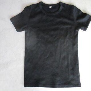 ≪美品≫ユニクロ 黒Tシャツ レディースSサイズ