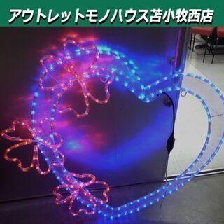 LED ガーデンモチーフライト  ハートフラワー イルミネーショ...