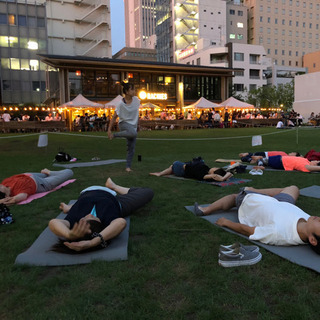 <南池袋公園>Relax Night YOGA