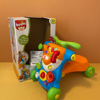 ☆2in1 ライドアンドウォーカー 4輪車 乗物玩具 のりもの