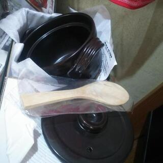 1~1.5合用、炊飯土鍋   茶碗2