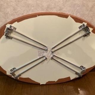 楕円折り畳み式テーブル - 目黒区