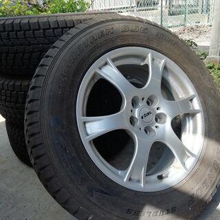 rial ホイール スタッドレスタイヤ 4本セット 【ボルボ社外】