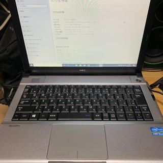 ⑩nec Corei5 モバイルノートパソコン MS Offic...