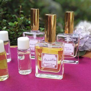 天然精油で創る オリジナル香水講座