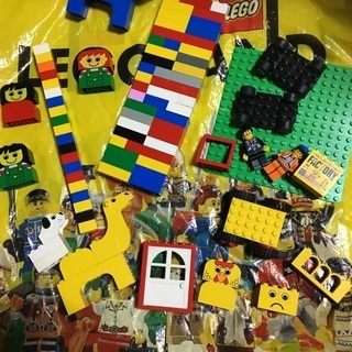 レゴ デュプロ おうち 乗り物 動物 人 セットの画像