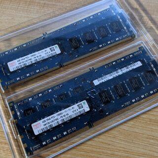 PCメモリ4GB×4 hynix PC3-12800U (…