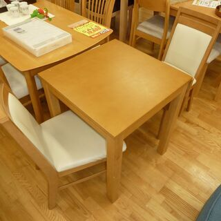 k5☆バタフライダイニングテーブル3点セット☆テーブル+椅子2脚...