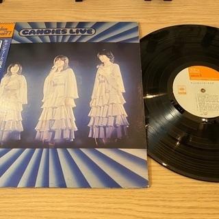 【京都市】レコード キャンディーズ・ライブ LP
