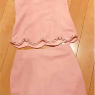 キャバ ラウンジ 2ピース ワンピース ドレス