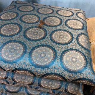 美品🌈日本製 お座敷座布団 5枚一組 しげん屋 10枚あります