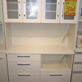 R055 食器棚・レンジボード・キッチンボード 幅120cm 良品