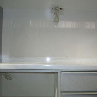 R085 高級松田家具 食器棚・レンジボード・キッチンボード 幅118cm − 愛知県