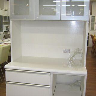 R090 NITORI 食器棚・レンジボード・キッチンボー…