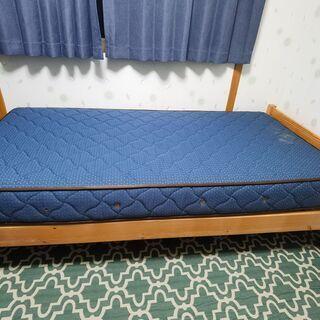 イケア シングルベッド 硬めタイプ 高級マットレス