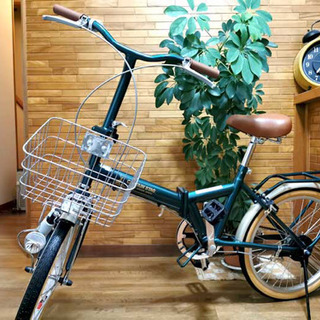 【ネット決済】折りたたみ自転車 未開封