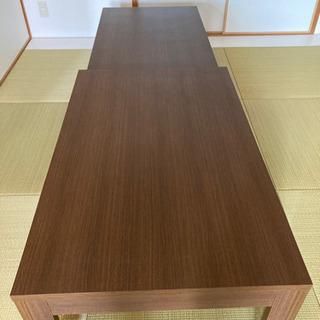 伸縮型ローテーブル 超美品 直接引き渡しのみ