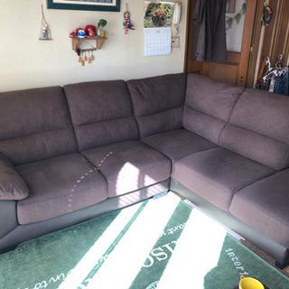 (ニトリ)L型ソファー今年8月購入!難アリ