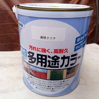 新品・未開封 アサヒペン 水性多用途カラー 1.6L クリヤ