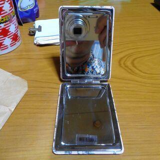 二つ折りコンパクトミラー 手鏡 新品未使用 - 江戸川区