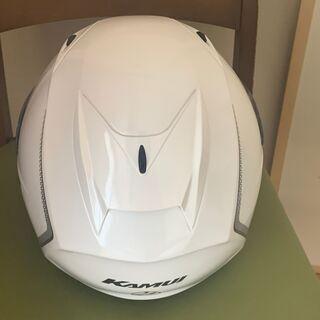 【美品】OGKカブト フルフェイスヘルメット KAMUI Sサイズ55-56 ホワイト - 大阪市