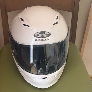 【美品】OGKカブト フルフェイスヘルメット KAMUI Sサイズ55-56 ホワイトの画像