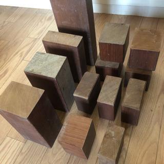 再値下げ!高級木材(チ-ク)端材