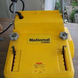 ナショナル  庭園芝刈機 EY2260  延長コード付き 電気芝...