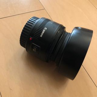 キヤノン単焦点レンズ Canon EF50mm F1.8 ii - 家電