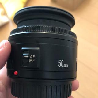 キヤノン単焦点レンズ Canon EF50mm F1.8 ii - 名古屋市