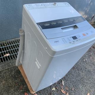 2017年製 アクア 洗濯機 AQW-S45E 4.5kg AQUA - 岡崎市