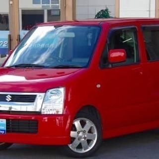 真っ赤かな スズキ ワゴンR FX-S
