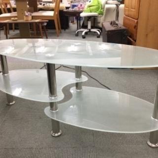 【お洒落‼️】ガラスのセンターテーブル