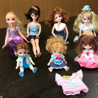 リカちゃん バービー 人形の画像