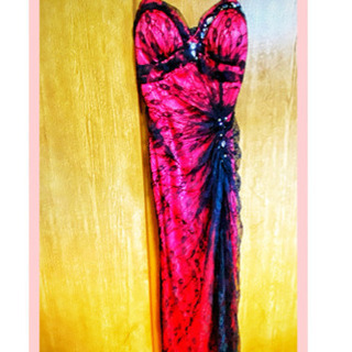 ロングドレス ピンク