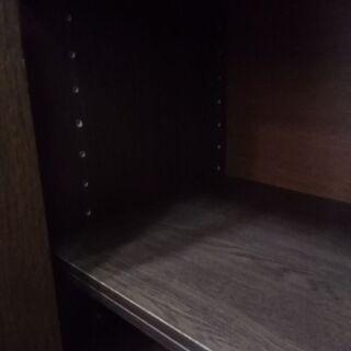 下駄箱 木製 扉付き シューズボックス 靴収納 仕切り高さ変更可能  - 家具