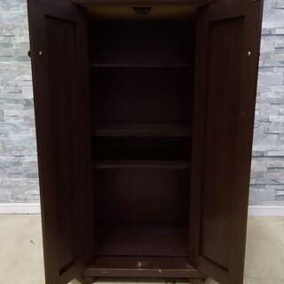 下駄箱 木製 扉付き シューズボックス 靴収納 仕切り高さ変更可能  − 福井県