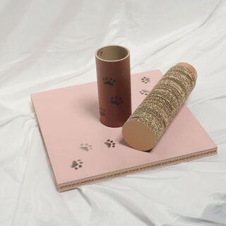 猫の爪とぎ柱、段ボール製、新品自社製品