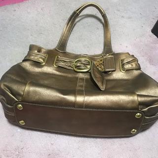 (最終値下げ) COACH 本革レザー ミニボストン トートバッグ - 靴/バッグ
