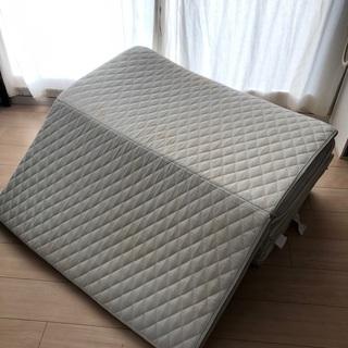 シングル 4つ折りマットレス 2個セット 東京西川