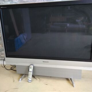 ジャンク  Panasonic VIERA TH-50PX60 液晶テレビ リモコン付の画像