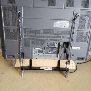 ジャンク  Panasonic VIERA TH-50PX60 液晶テレビ リモコン付 - 家電