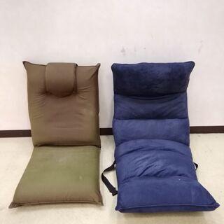 座椅子 リクライニング座椅子 2個セットの画像